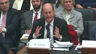 Richard Anderson, President and CEO, Amtrak, Testimony