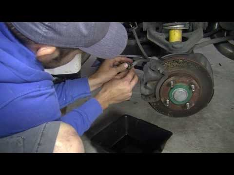 How to Install Braided Brake Lines