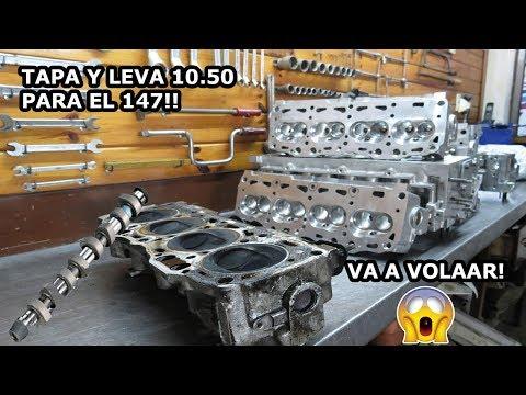 MAS POTENCIA Para El FIAT 147 ! ( TAPA TRABAJADA Y LEVA )