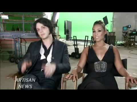Alicia Keys - Jack White - On Set Interview