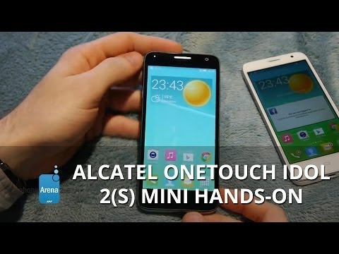 Alcatel OneTouch Idol 2(s) mini hands-on: a sleed midranger