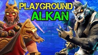 PLAYGROUND WITH ALKAN - Fortnite PRO Player