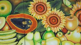 Pintura em tela Frutas