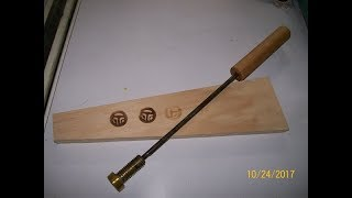 Make a Branding Iron With Your Logo