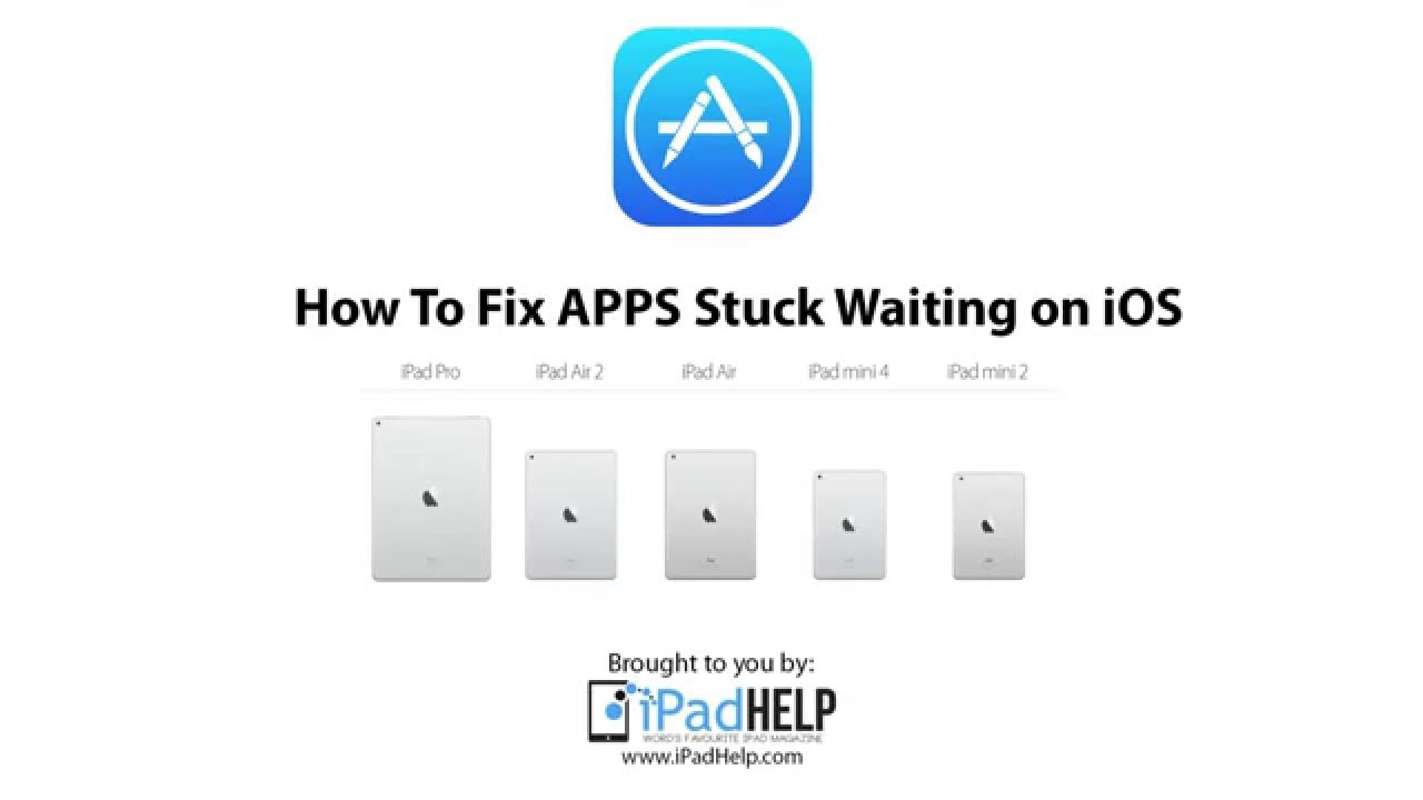 iphone apps waiting how to fix ios apps stuck on waiting for iphone 8147
