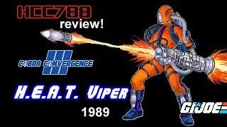 HCC788 - 1989 H.E.A.T. Viper - COBRA CONVERGENCE III - Vintage G.I. Joe toy!