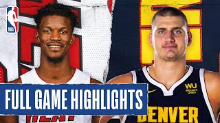 HEAT at NUGGETS | FULL GAME HIGHLIGHTS | August 1, 2020