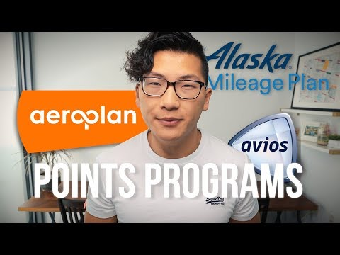The Major Points Programs (Aeroplan, Alaska, Avios, And More)