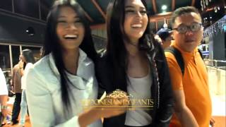 Support Langsung Anin dan Tya Untuk Gresya Amanda ke Miss Supranational 2015