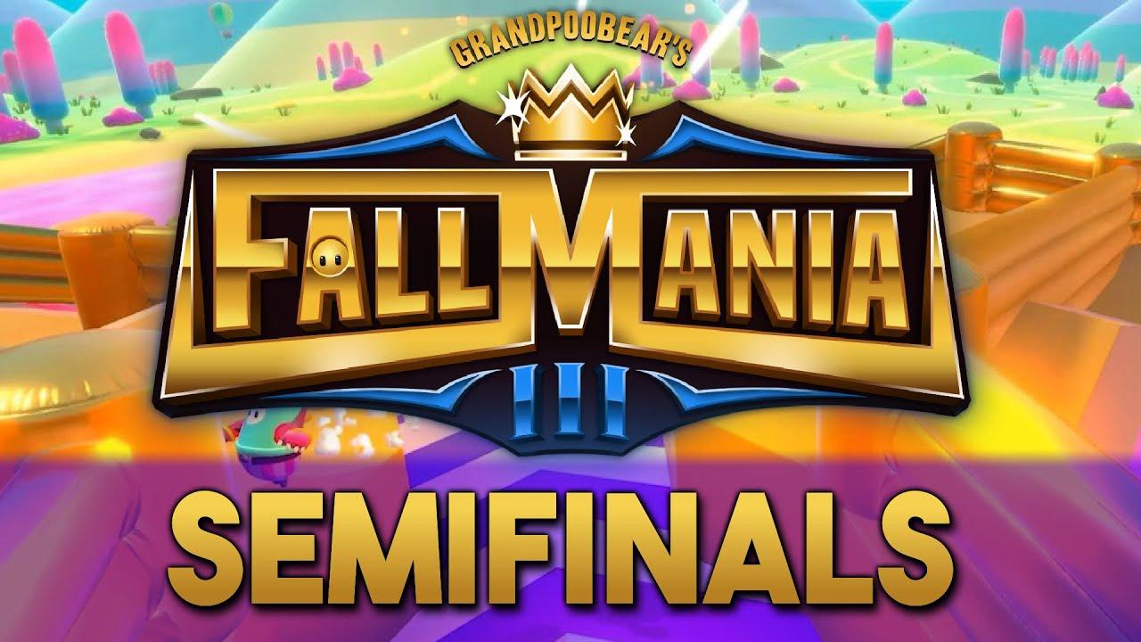 FallMania 3 Semifinals | GrandPooBear's $5,000 Fall Guys Tournament