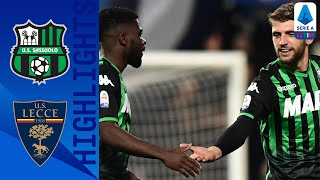 Sassuolo 4-2 Lecce | Sassuolo guarantees victory in second half | Serie A TIM