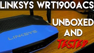 Unboxed and Tested | QwazyTech | Linksys WRT1900ACS