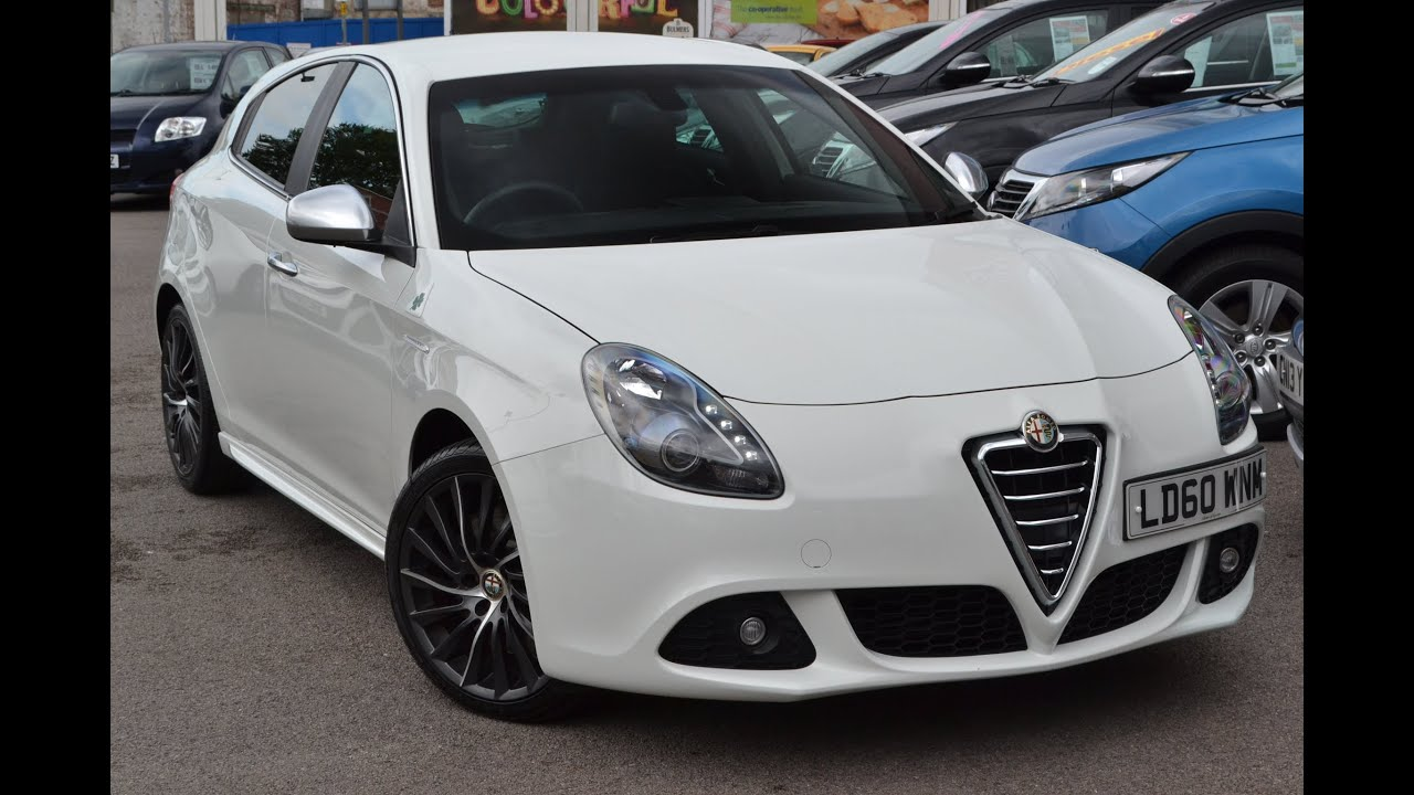 Used Car Alfa Romeo Giulietta Cloverleaf White DWNM Wessex - Alfa romeo used cars