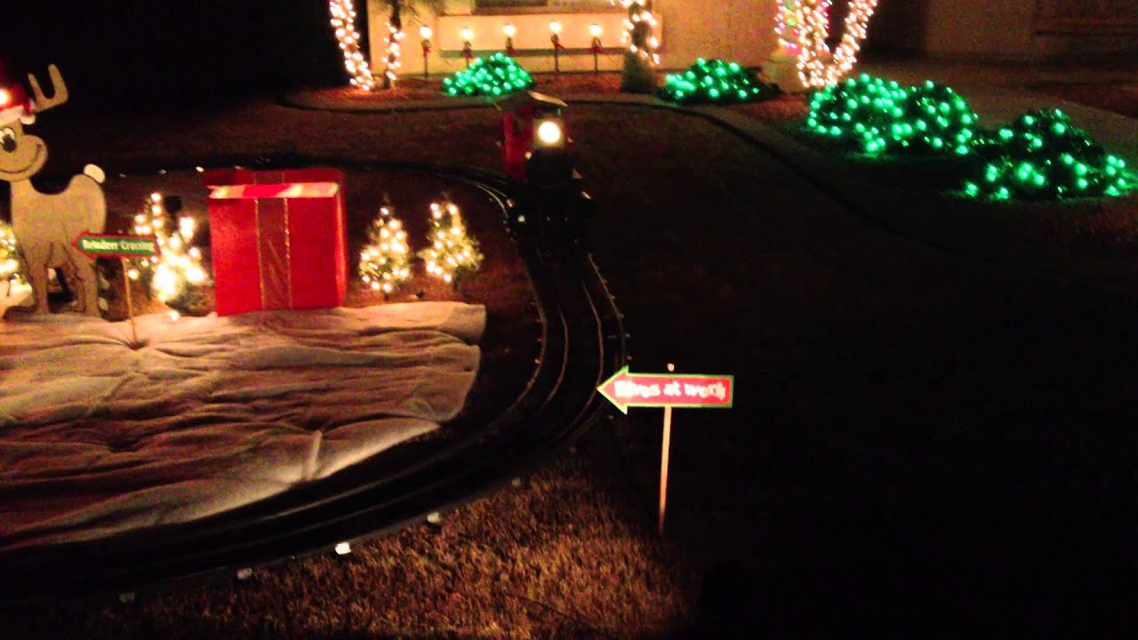 christmas train yard display - Christmas Train Yard Decoration
