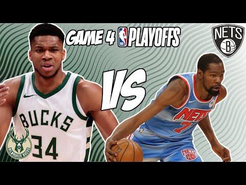 Milwaukee Bucks vs Brooklyn Nets Game 4 6/13/21 NBA Playoff Free NBA Pick & Prediction