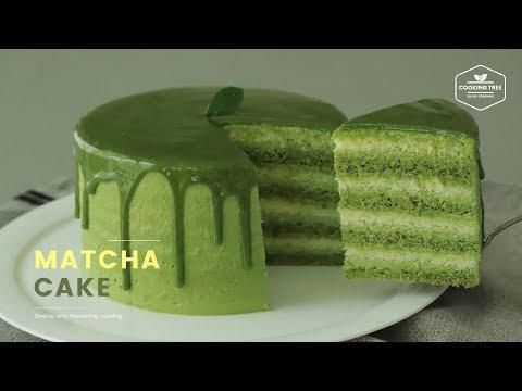녹차케이크