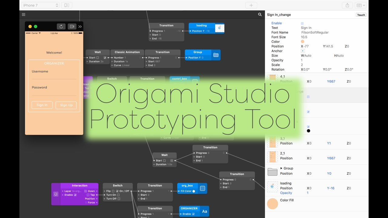 Getting Started With Origami Studio