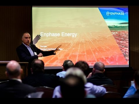 Enphase CEO, Paul Nahi, Keynote Address at 2017 BayWa r.e. Solar Systems' Partner Summit