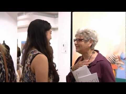 Agora Gallery, Chelsea, NYC, Art Gallery Video. Opening Reception October 11th, 2012.