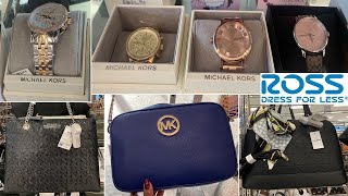 ROSS Designer WATCHES * HANDBAGS ~ Michael Kors Coach $ PRICES | Shop With Me 2019