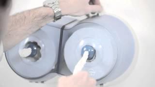 Advantages of SmartOne® sheet by sheet toilet tissue dispenser Lotus Professional