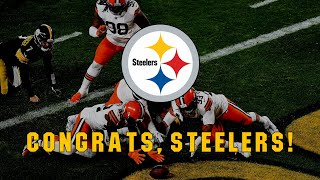 Congrats, Steelers! (2021)