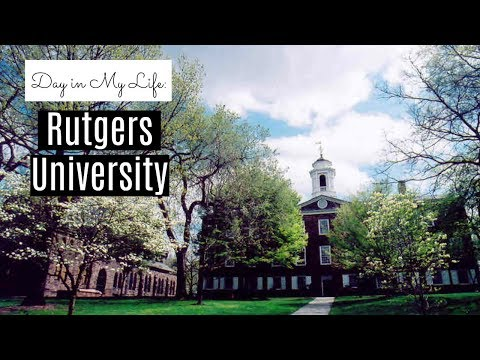 Day In My Life: Rutgers University | Online and On-campus Classes