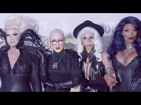 Aja, Alexis Michelle, Peppermint & Sasha Velour - C.L.A.T. (Feat. DJ Mitch Ferrino) [Official Video]