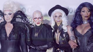 Aja Alexis Michelle Peppermint  Sasha Velour - CLAT Feat DJ Mitch Ferrino Official Video