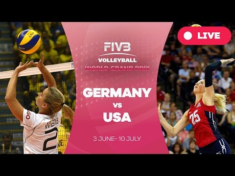 Germany v United States - Group 1: 2016 FIVB Volleyball World Grand Prix