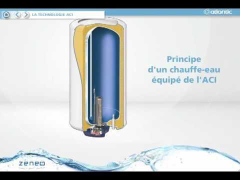 chauffe eau zeneo aci hybride atlantic youtube. Black Bedroom Furniture Sets. Home Design Ideas