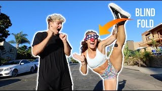 Game of FLIP BLINDFOLDED (w/ Demi Bagby)