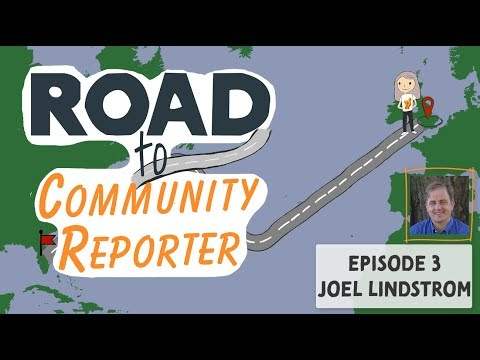 Joel Lindstrom - Interview - Road To Community Reporter - Microsoft Ignite