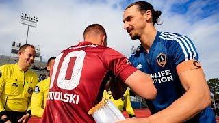 HIGHLIGHTS: LA Galaxy defeat Andres Iniesta, Lukas Podolski, and David Villa's Vissel Kobe