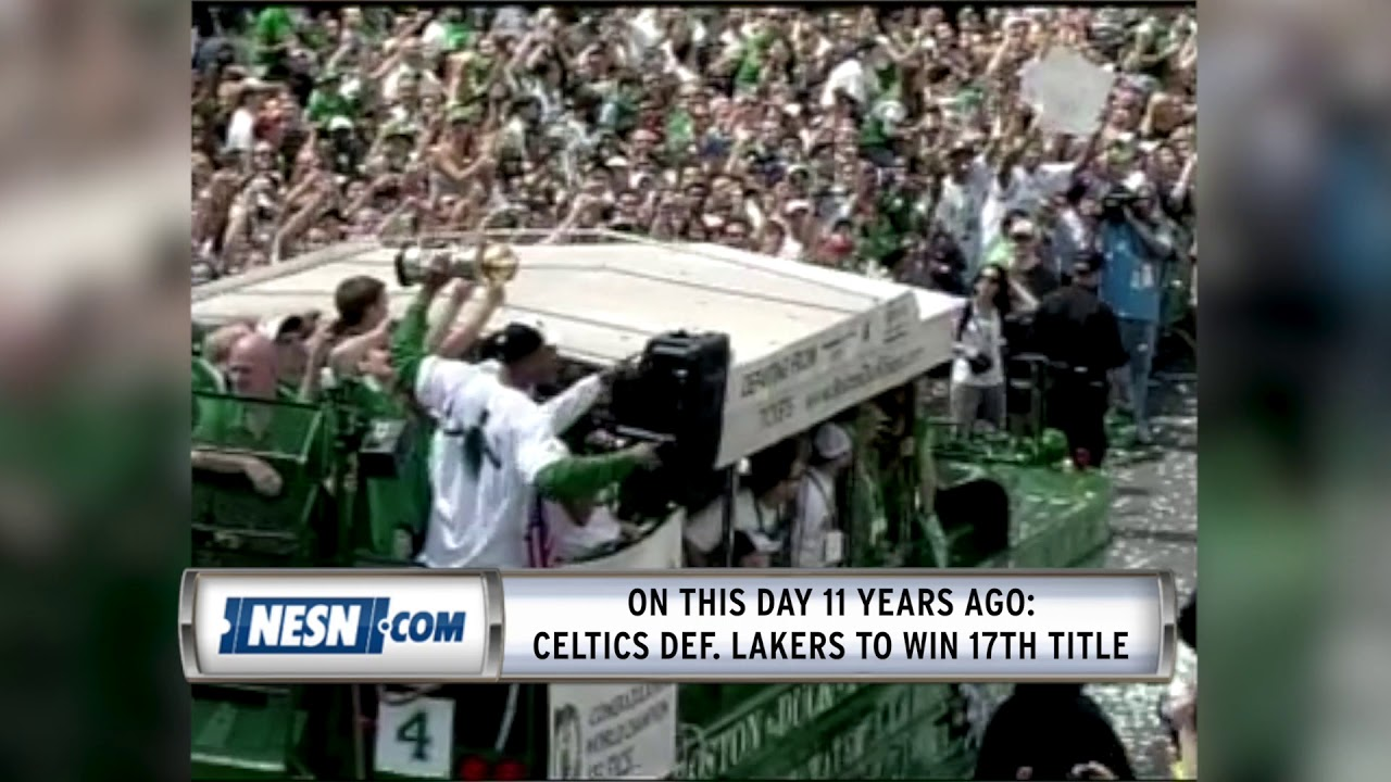 Celtics Celebrated 17th NBA Title 11 Years Ago Today
