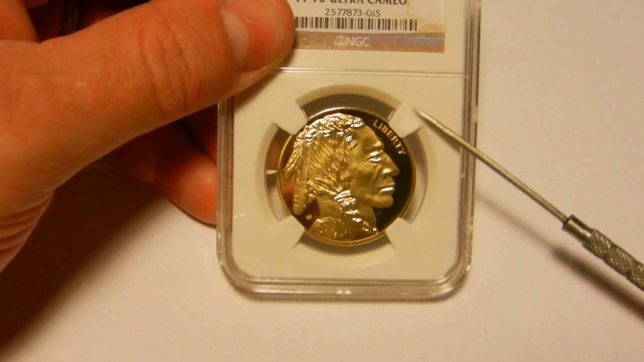 Counterfeit 2011 W 1 Oz Gold Buffalo In A Fake Ngc Slab