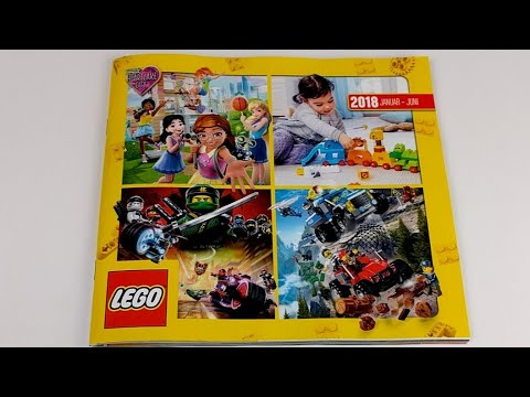 Lego Katalog 2018 Januar Bis Juni Live