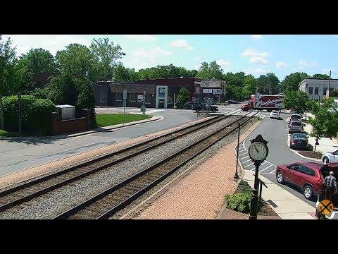 Ashland, Virginia USA - Virtual Railfan LIVE