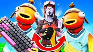 THE YOUNGEST SQUAD CONTROLLED MY KEYBOARD AND MOUSE ON FORTNITE!