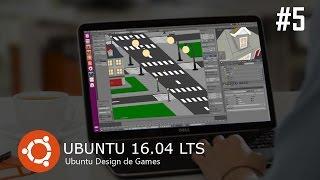 Ubuntu, el Diseño de videojuegos - Blender 3D en la Creación de un low-poly de dibujos animados - Speed Modeling - parte 5
