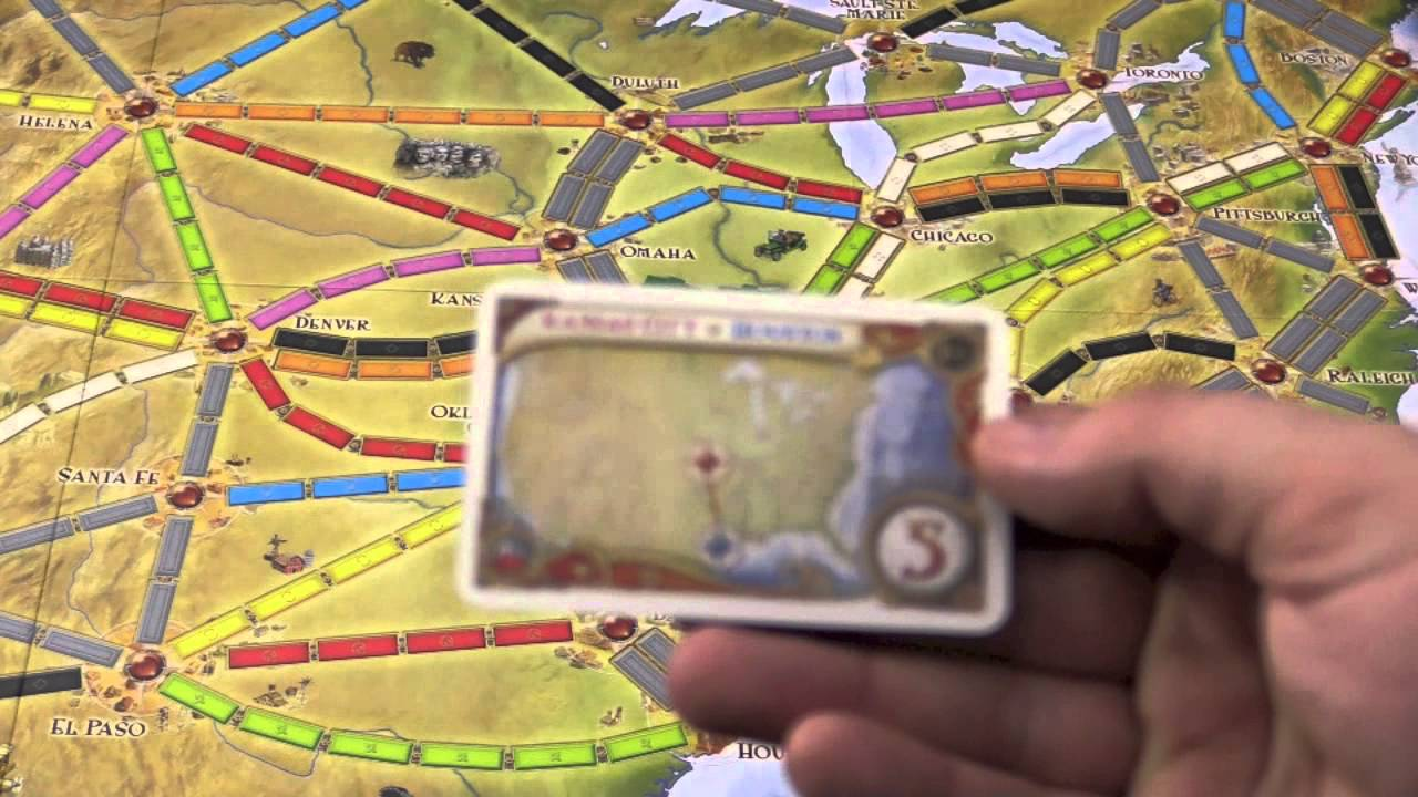 Ticket To Ride 10th Anniversary Edition Review With Tom Vasel
