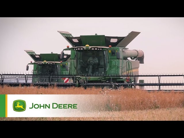 John Deere S680 Combine Testimonial Video - Teaser
