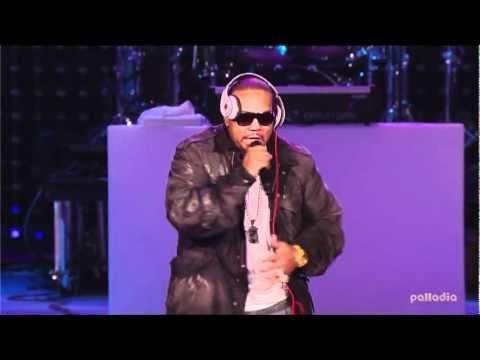 Timbaland - Carry Out live @ Pepsi Super Bowl Fan Jam
