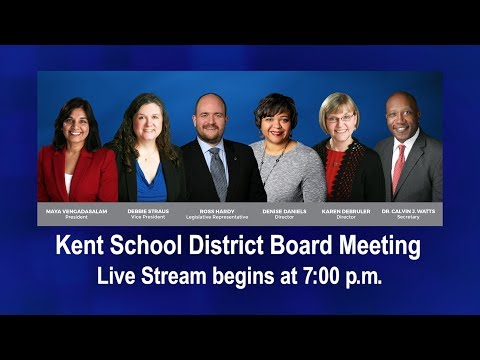 KSD Board Meeting - 03/28/2018 (Recorded Live Stream)