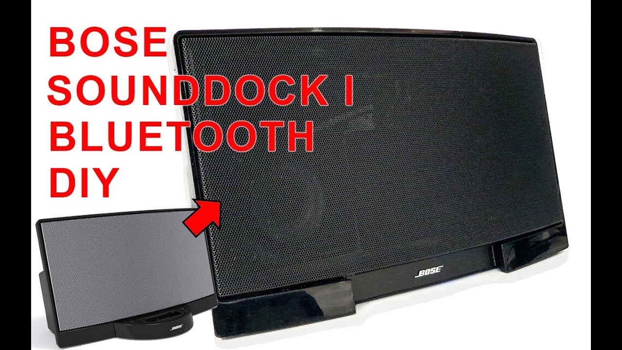 How To Remake Bose Sounddock I Bluetooth