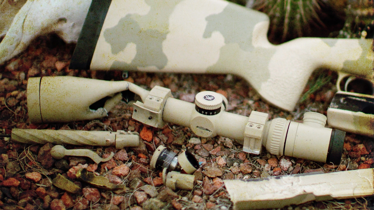 Vortex VIP Story: Blown Up Riflescope - YouTube