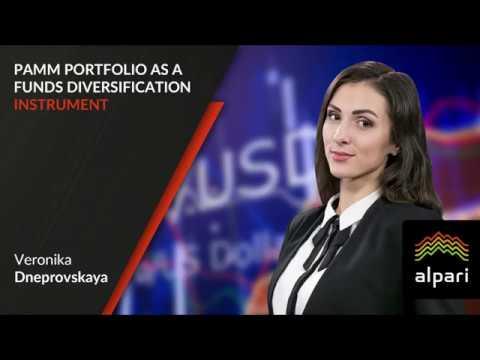PAMM portfolio as a funds diversification instrument 05.12.2017