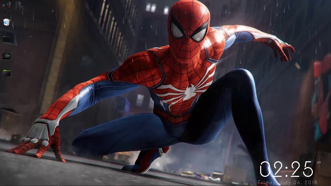 Wallpaper Engine Spiderman Game 2018 Free Download Youtube