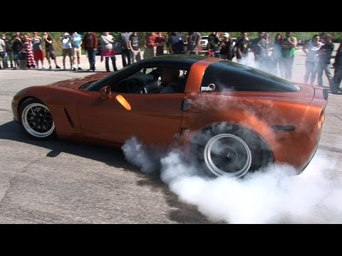 CAR SHOW Burnouts Gone WILD