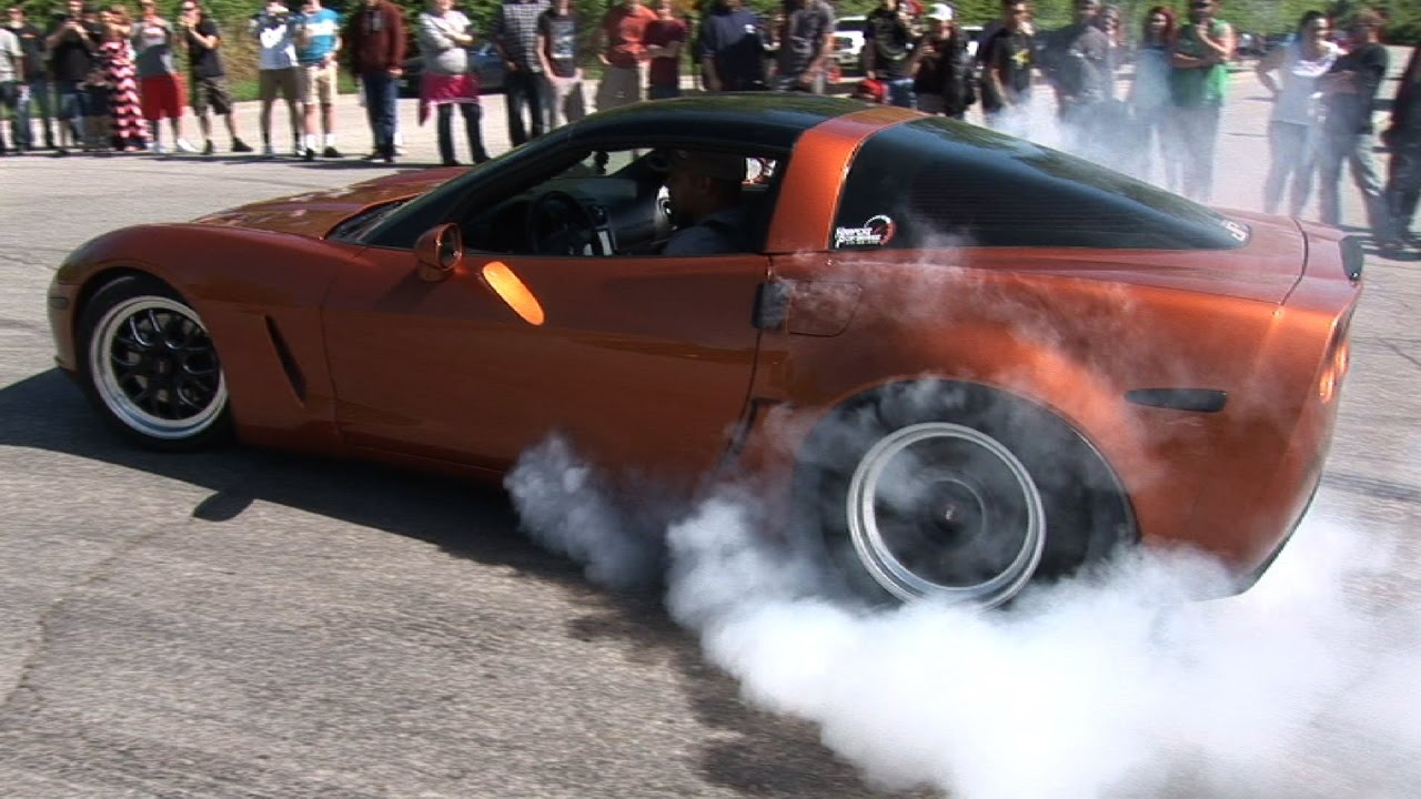 Cars Gone Wild >> Car Show Burnouts Gone Wild Youtube